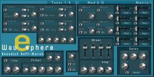 """Ist ein 4-Tone-Sample-Synthezier (oft auch """"Rompler"""" genannt) mit 24/48db-Filter."""