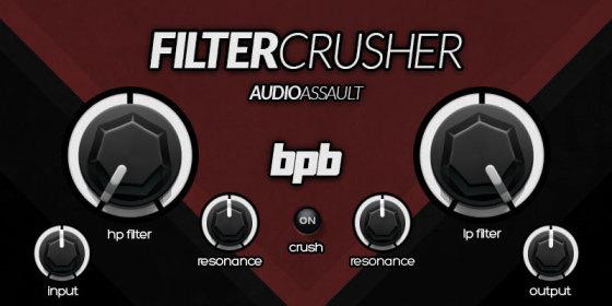 Free VST Plugins: AudioAssault FilterCrusher