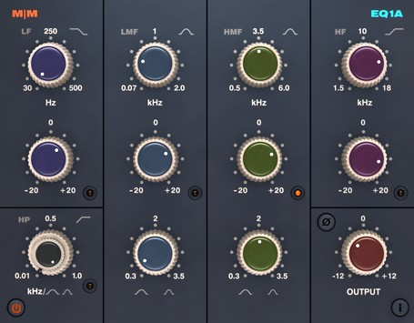 Free VST Plugins: Mellowmuse EQ1A