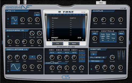 Free VST Plugins: Noizefield 4 Tune