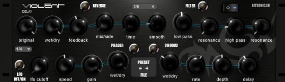 Free VST Plugins: Bitsonic Violent delay